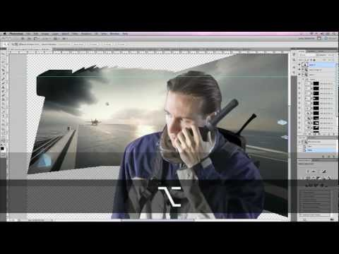 Act Of Valor Composite Using BF3 Photoshop & After Effects Video Copilot Tutorial