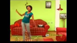 getlinkyoutube.com-Gelila betoch actress having good time