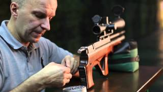 getlinkyoutube.com-Made in RUSSIA! Пневматическая винтовка Edgun Matador Standart 6,35. Тест любителя.