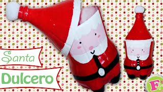 getlinkyoutube.com-Santa Claus Dulcero! con Botes de refresco! - floritere - 2014