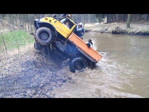 Mercedes Unimog extreme off road compilation