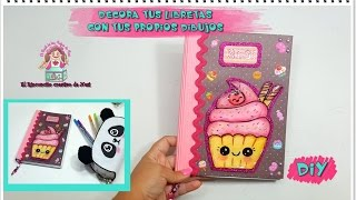 getlinkyoutube.com-DIY- TUTORIAL DECORA TUS LIBRETAS ESTILO KAWAII