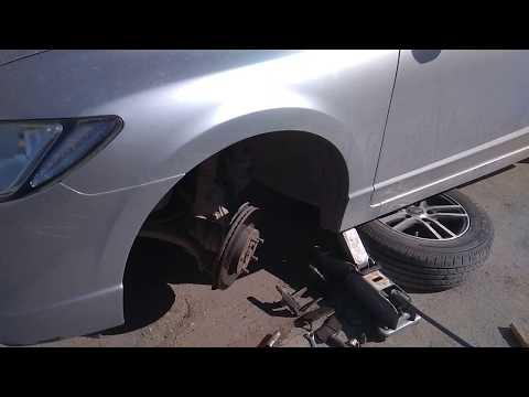 Замена шпильки ступицы Honda Civic VIII