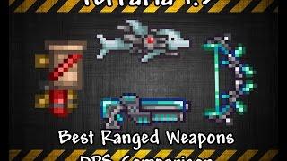 Terraria 1.3 Best Endgame Ranged Weapons + DPS Comparison
