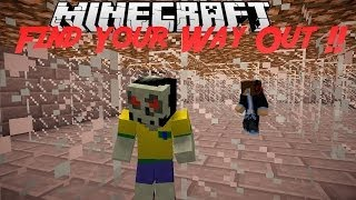 getlinkyoutube.com-[MinecraftVN] Puzzle Map : Find Your Way Out PART 1 !!
