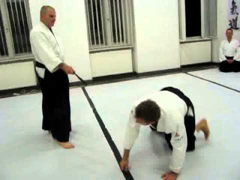 Iwama Style or Takemusu Aikido exercise
