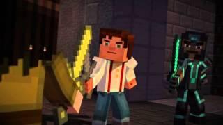 getlinkyoutube.com-Minecraft: Story Mode episode 2 Jessie and Gabriel vs Ivor