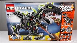 getlinkyoutube.com-LEGO 4958 Creator Monster Dino - Review deutsch -