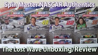 getlinkyoutube.com-2014 Spin Master NASCAR Authentics HD Unboxing and Review: Wave 6 (THE LOST WAVE)