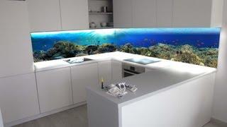 getlinkyoutube.com-ZOBACZ niesamowite Panele szklane z grafiką do kuchni | szkło w kuchni