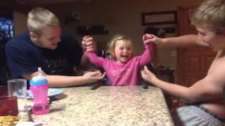 getlinkyoutube.com-Tickling Baby sister