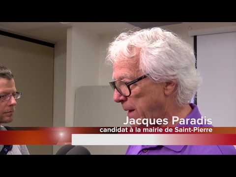 Jacques Paradis brigue la mairie de Saint-Pierre