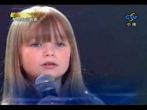 Connie Talbot - I Will Always Love You Live *high Quality*