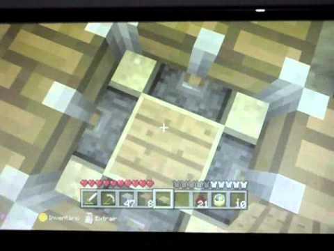 Minecraft Xbox 360 Armadilhas Simples