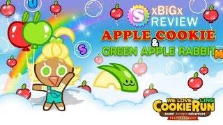 getlinkyoutube.com-[Review] Cookie Run SS4 : AppleCookie+GreenAppleRabbit : แอปเปิ้ล+กระต่าย | xBiGx