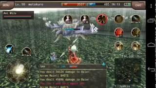 Kiting on Sniper (AoE) - Iruna Online