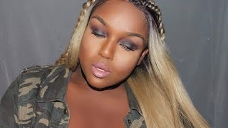 getlinkyoutube.com-How To SLAY A Synthetic Lace Front Wig | + Wig Customizing