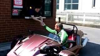 getlinkyoutube.com-1it ウォンイットでドライブスルーしてみた。  ZTR Real Mario Kart