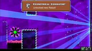 getlinkyoutube.com-[GD] Geometrical Dominator & Deadlocked (+some level bugs)