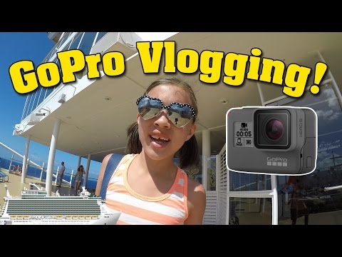 JILLIAN & HER GOPRO!!! Cruise Vlogging on the Allure of the Seas
