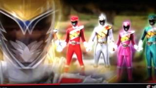 getlinkyoutube.com-Power rangers dino supercharge all the rangers