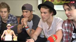 getlinkyoutube.com-5 Seconds of Summer - aftonbladet interview