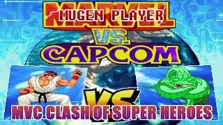 MARVEL VS CAPCOM CLASH OF SUPER HEROES MUGEN 2017