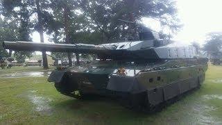 getlinkyoutube.com-こんなに動く!10式戦車 Type 10 Performance Main Battle Tank of the Japan Ground Self Defense Force