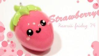 getlinkyoutube.com-◕‿‿◕Kawaii Friday 74- Strawberry! -Tutorial on polymer clay