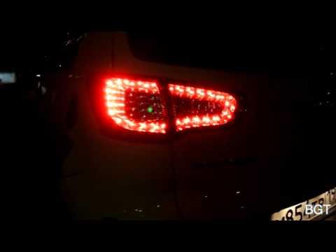 Kia Sportage - задняя светодиодная оптика