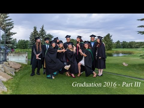 2016 Graduation Ceremony - Part III
