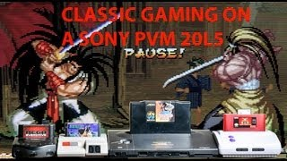 getlinkyoutube.com-Sony PVM 20L5 Review for Classic Gaming in RGB