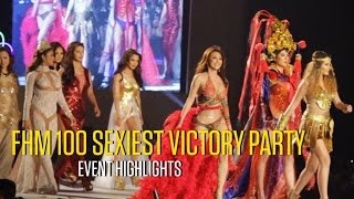 getlinkyoutube.com-FHM 100 Sexiest Victory Party: Event Highlights