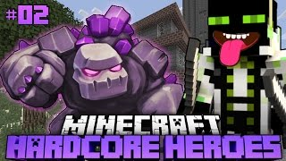 getlinkyoutube.com-BÖSER blöder STEINGOLEM?! - Minecraft Hardcore Heroes 2 - #02 [Deutsch/HD]