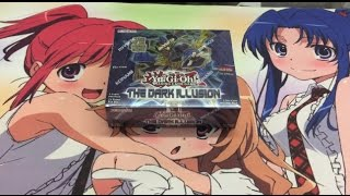 getlinkyoutube.com-Opening a Dark Illusions Yugioh Booster Box TCG After Locals