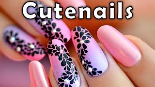 getlinkyoutube.com-Fast & easy Nail art tutorial