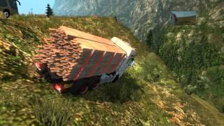 getlinkyoutube.com-EuroTruck Simulator 2 | Rutas Mortales Cap 12 | Español