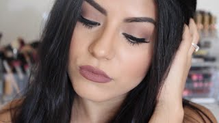 getlinkyoutube.com-Kylie Jenner Inspired Makeup Tutorial Using Two Different Lip Combos!