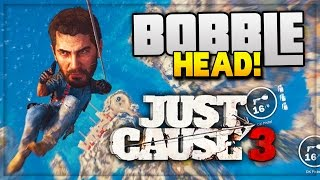 "getlinkyoutube.com-BOBBLE HEAD EASTER EGG! - ""Rare Balloon Gun"" (Just Cause 3 Funny Moments)"