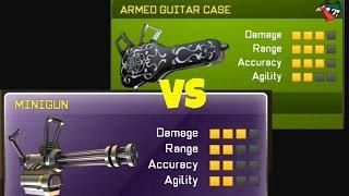 getlinkyoutube.com-Respawnables Part 28 - ARMED GUITAR CASE VS MINIGUN!
