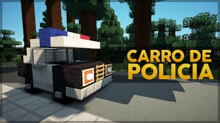 getlinkyoutube.com-Minecraft Veículos #1: Carro de Polícia
