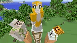 getlinkyoutube.com-Minecraft Xbox - Golem Challenge