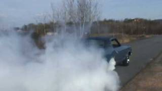 1970 oldsmobile Cutlass Supreme 455 burnout