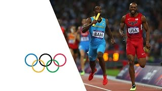 getlinkyoutube.com-Bahamas Win Men's 4 x 400m Relay Gold - London 2012 Olympics