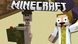 getlinkyoutube.com-[GEJMR] Minecraft Minihry - Build Battle - Prasečí kasička, Drak, Kaktus