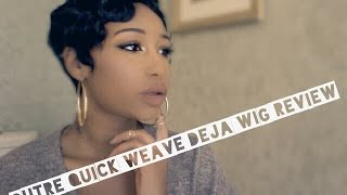 getlinkyoutube.com-Outre Quick Weave Deja Wig Review