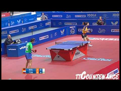European Championships: Timo Boll-Bojan Tokic