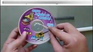 Como fazer um alto falante usando um CD