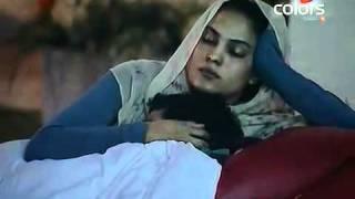 Veena Malik and Ashmit Patel Scenes in Big Boss Season 4 Colors TV India.flv