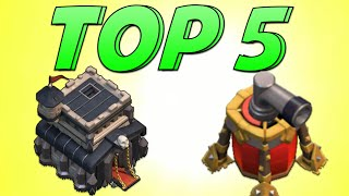 getlinkyoutube.com-Clash of Clans - TOP 5 BEST TH9 AIR SWEEPER WAR BASES!